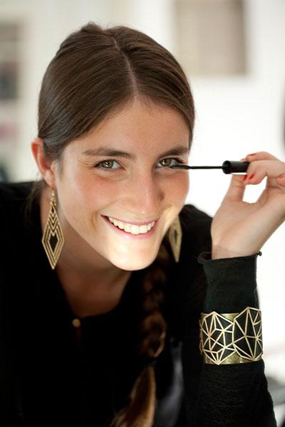 MarikaChapka Collection Cuir Bijoux Boucles Oreilles