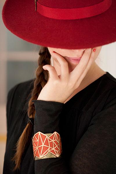 MarikaChapka Collection Cuir Bijoux
